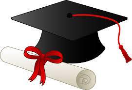 Graduation Cap and Diploma - Free Clip Art | Graduation cap clipart,  Graduation diploma, Kindergarten graduation